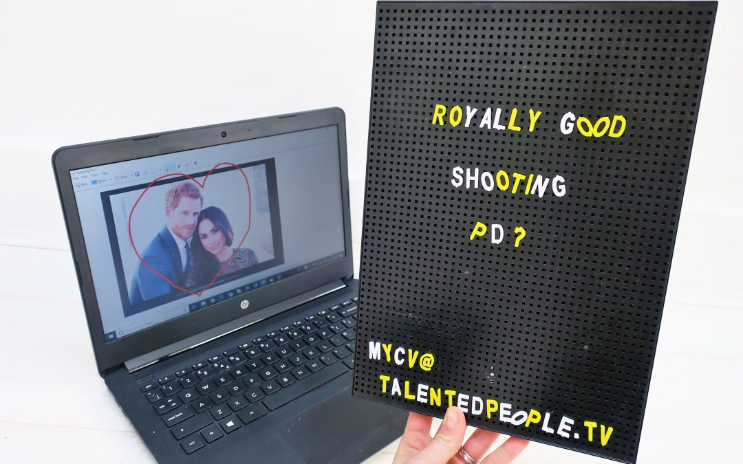 Strong shooting PDs for royal documentaries